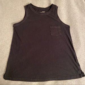 Universal Thread gray pocket muscle tee tank small